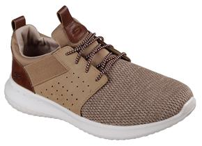 Skechers Shoes - Delson 65474 Light Brown