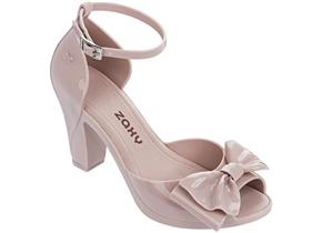 ZAXY SHOES - DIVA BOW 21 BLUSH
