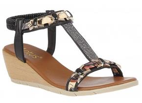 Lotus Sandals - Neve ULP115 Black