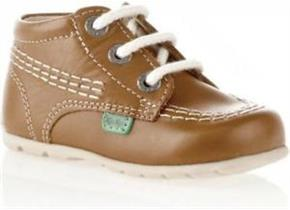 Kickers Shoes - Kick Hi Baby Tan