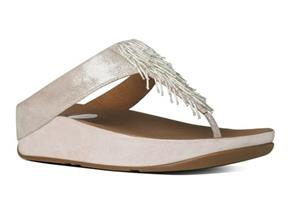 FitFlop™ Sandals - Cha Cha™ Silver