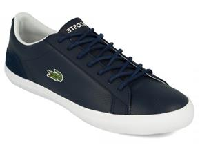 Lacoste Trainers - Lerond 318 Cam Navy White