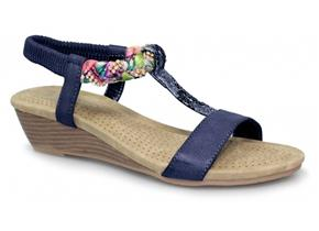 Lunar Sandals - Fern JLH987 Navy