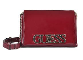 Guess Bags - Uptown Chic Mini Crossbody Merlot