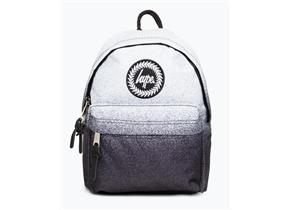 Hype Backpack - Speckle Fade White Black