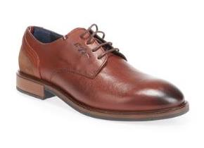 Tommy Hilfiger Shoes - Elevated Leather Mix Brandy