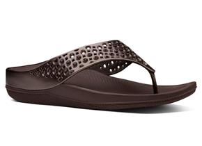 FitFlop™ Sandals - Ringer™ Welljelly Bronze