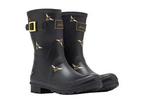 Joules Wellingtons - Molly Black Bees Black Multi