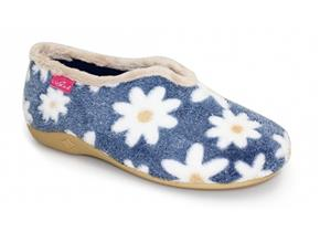 Lunar Slippers - Daisy KLA021 Blue