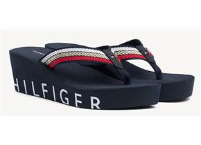 Tommy Hilfiger Sandals - Iconic Wedge Beach Navy