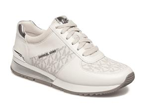 Michael Kors Shoes - Allie Wrap Trainers Cream