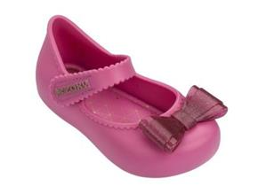 Zaxy Shoes - Baby Enchanted Bow Pink