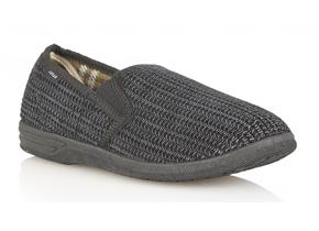 Lotus Slippers - Bevis Black