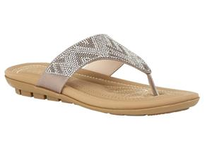 Lotus Sandals - Patti Silver