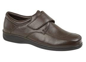 Roamers Shoes - M723 Brown