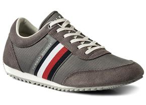 Tommy Hilfiger Shoes - Corporate Material Sneaker Grey