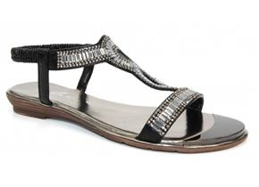 Lunar Sandals - Samantha JLH882 Black