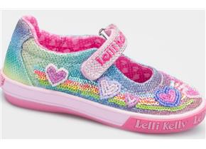 Lelli Kelly Shoes - LK5072 Rainbow Hearts Multi