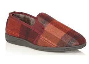 Lotus Slippers - Nash Burgundy Multi