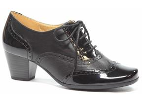 Caprice Shoes - 23300-27 Black Patent