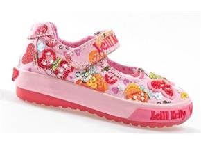Lelli Kelly Shoes - LK4010 Papillon Baby Dolly Pink Multi