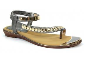 Lunar Sandals - Asia JLH753 Pewter