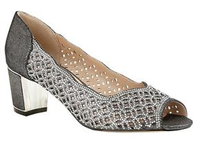 Lotus Shoes - Attica ULS034 Pewter