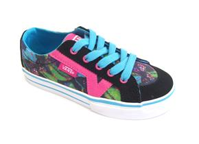 Vans Shoes - Tory Lace Blue