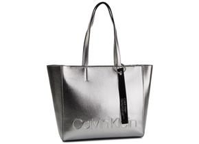 Calvin Klein Bags - Edged Shopper Silver