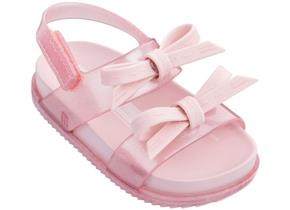 Melissa Sandals - Mini JWU Cosmic Sandal Bow Baby Pink