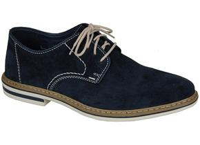 Rieker Shoes - B1422 Navy Suede