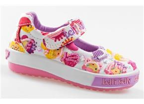 Lelli Kelly Shoes - LK4008 Dollface Baby Dolly White Multi