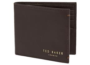 Ted Baker Wallet - Antonys Coin Wallet Brown