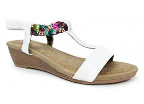 Lunar Sandals - Fern JLH987 White