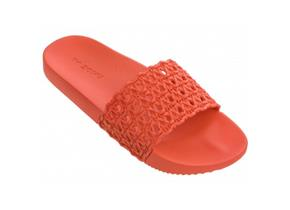 Zaxy Sandals - Snap Mesh Slide Orange