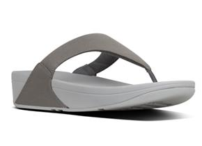 FitFlop™ Sandals - Lulu™ Shimmer Pewter