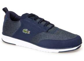 Lacoste Trainers - L.Ight 318 Navy