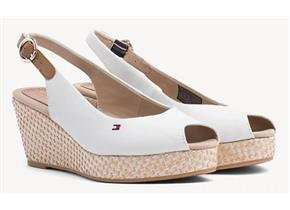 Tommy Hilfiger Sandals - Elba Basic Slingback White