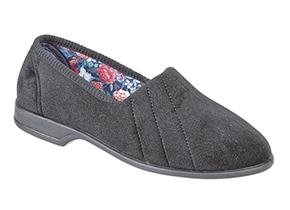 Sleepers Slippers - Audrey L392 Black