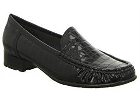 Ara Shoes - Atlanta 60107 Black Croc