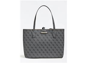Guess Bags - Bobbi Inside Out Tote Black Multi