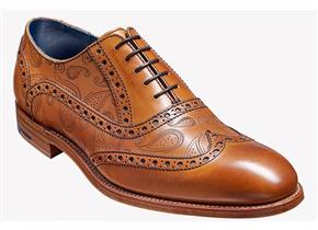 Barker Shoes - Grant Paisley Tan