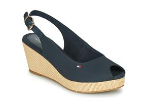 Tommy Hilfiger Sandals - Elba Basic Slingback Navy