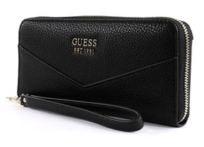 Guess Purses - Colette Large Zip Around Black