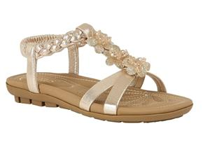 Lotus Sandals - Margarita Gold