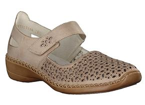 Rieker Shoes - 413G8 Taupe