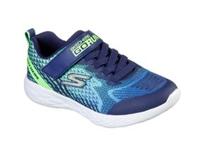 Skechers Shoes - Go Run 600 97858L Navy Lime