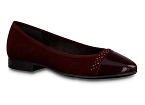Jana Shoes - 22166-23 Burgundy