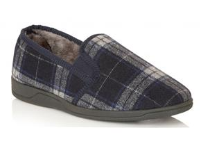 Lotus Slippers - Nash Navy Multi