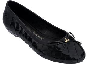 Vivienne Westwood + Melissa Shoes - VW Margot Ballerina Black
